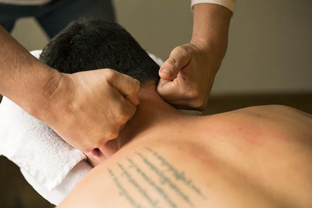 DSR massage nek door lydia