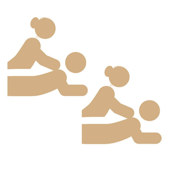 DUO massage icon by Vayamassage