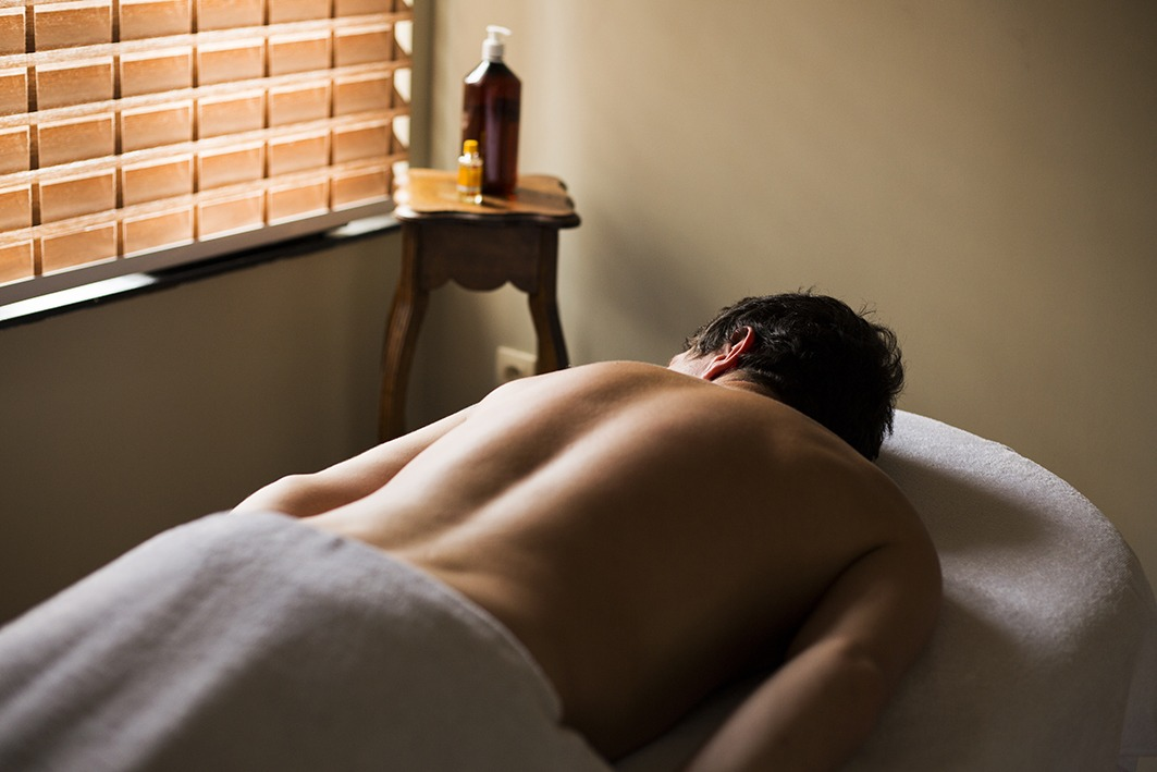 klaarleggen op massagetafel