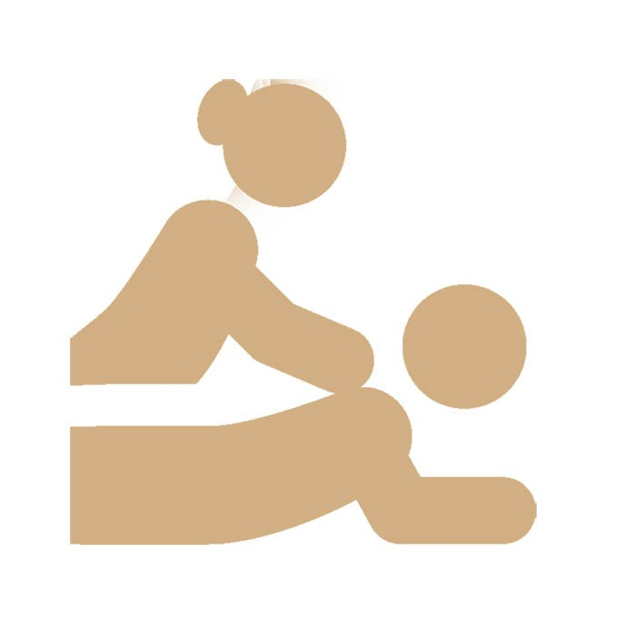Relaxatie massage icon
