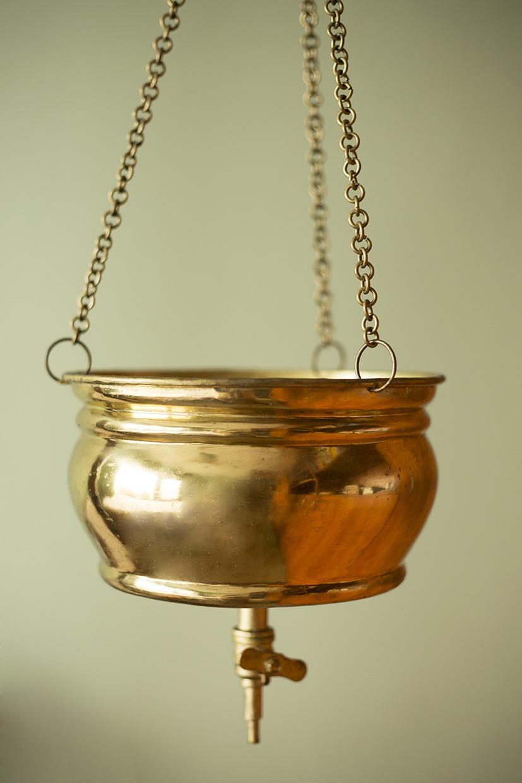 Warme oliemassage copper
