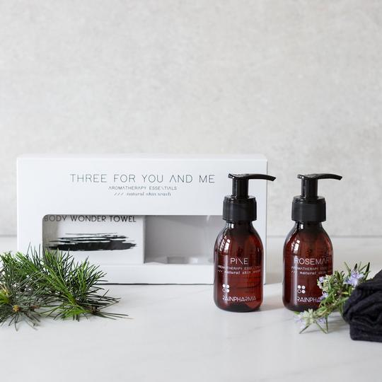 Three for you and me - pine - rosemary product image